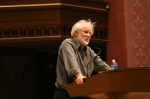 Michael Ondaatje speaks at Wesleyan University